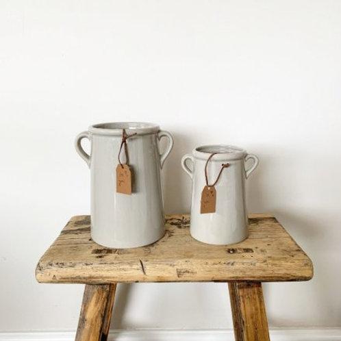 For You Grey Vase 17.5cm