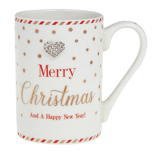 Mad Dots - Merry Christmas Mug