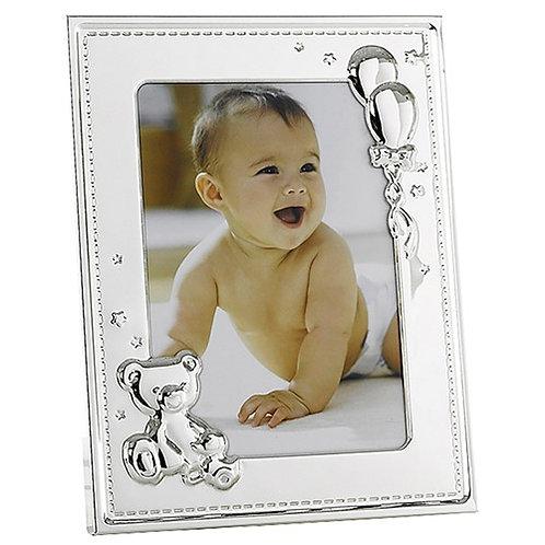 Shudehill New Baby Silver Frame