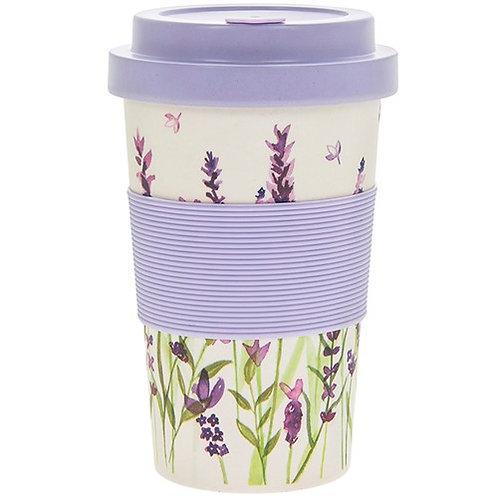 Purle Lavender Bamboo Mug