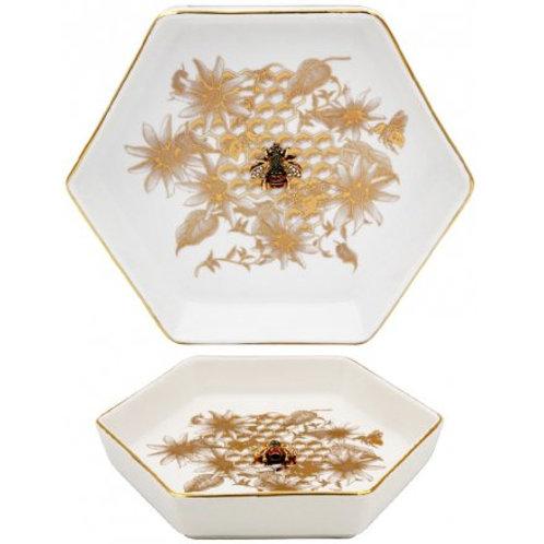 Golden Beehive Trinket Dish