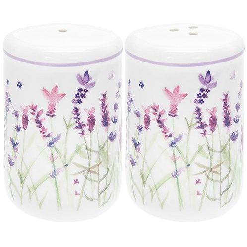 Purple Lavender Salt & Pepper Shaker