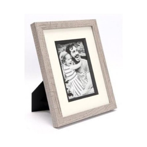 Greywash Wooden Frame 4x6