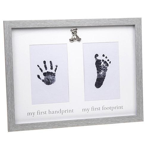 My First Handprint and Footprint Frame