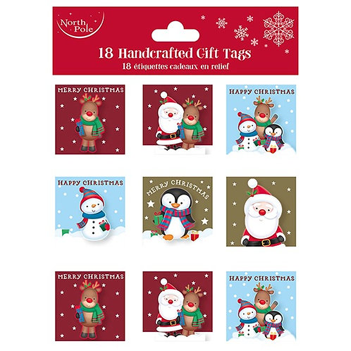 Handcrafted Christmas Gift Tags