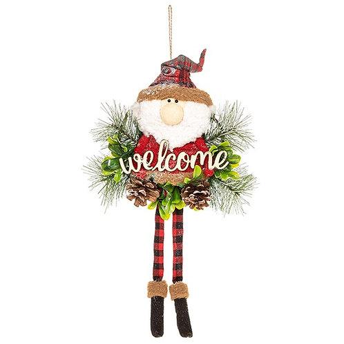 Jolly Santa Hanger Welcome