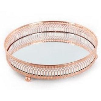 Copper Mirror Plate