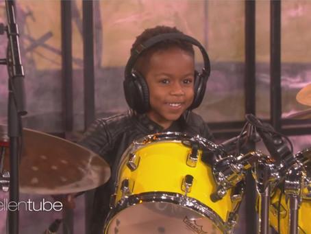 Baby Boy Drummer - How It All Began