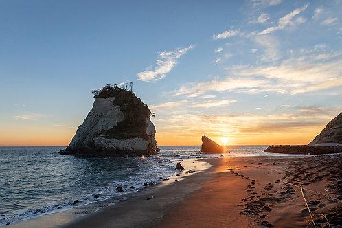 夫婦岩(雀島)1914Mサイズ