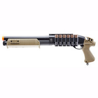 Tactical Force Tri-Shot Spring Powered Airsoft Pump Shotgun