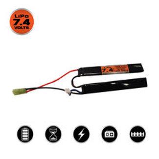 Valken LiPo 7.4V 1400mAh 25C Split Airsoft Battery (Small Tamiya)