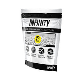 Infinity 0.28g 3,500ct Biodegradable Airsoft BBs (1kg)