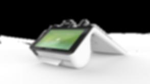 Poynt - Customer screen perspective view