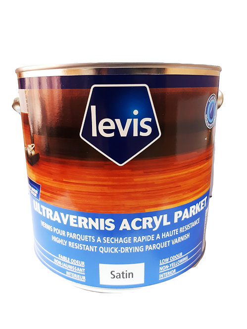 LEVIS ULTRA VARNISH ACRYLIC PARKET SATIN 2.5 LTR