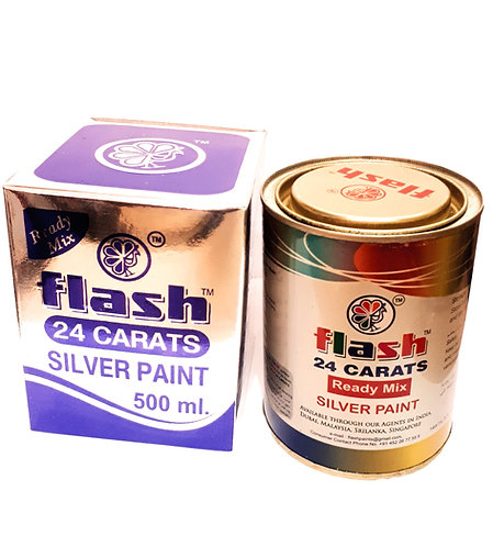FLASH 24 CARAT SILVER PAINT-103