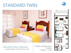 Estándar_Doble_Twin_Costa_Caribe_Hotel_