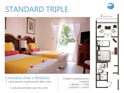 Estandar Triple Costa Caribe Hotel - 2.J