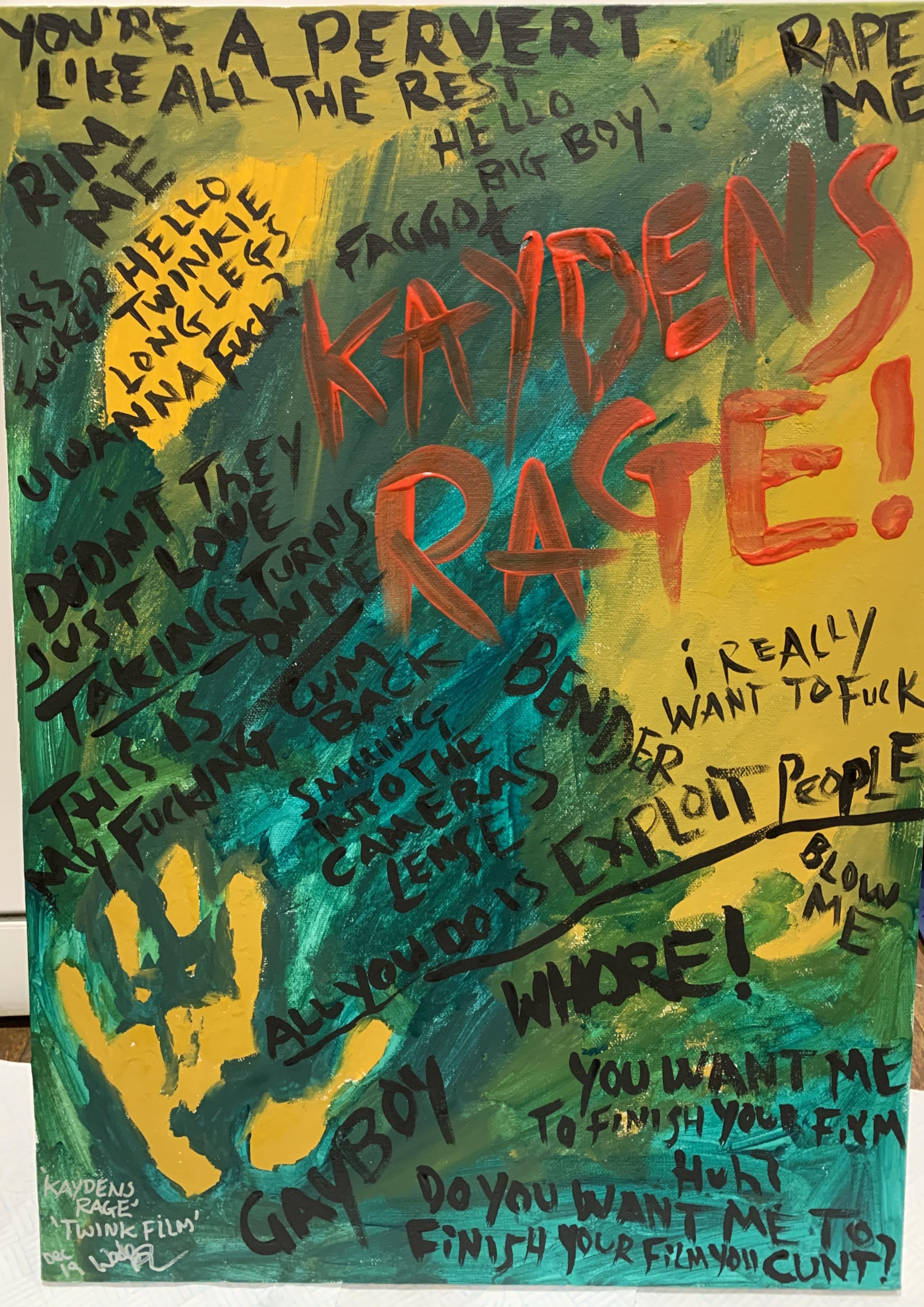 'Kaydens Rage' Twink Film