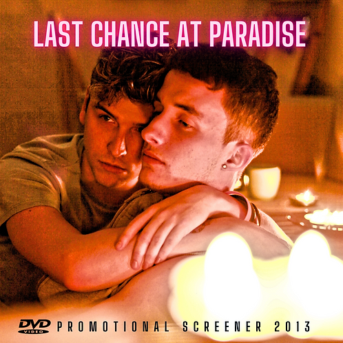 Limited 2013 Cardboard Sleeve Screener Disc DVD 'Last Chance at Paradise'