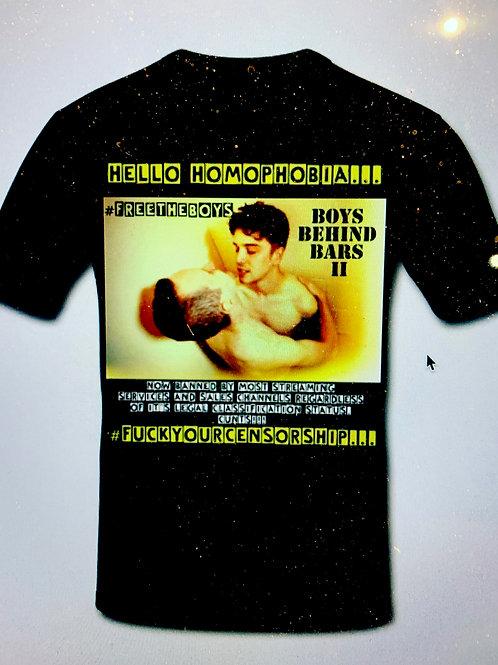 Limited Edition #HelloHomophobia Tee Shirt