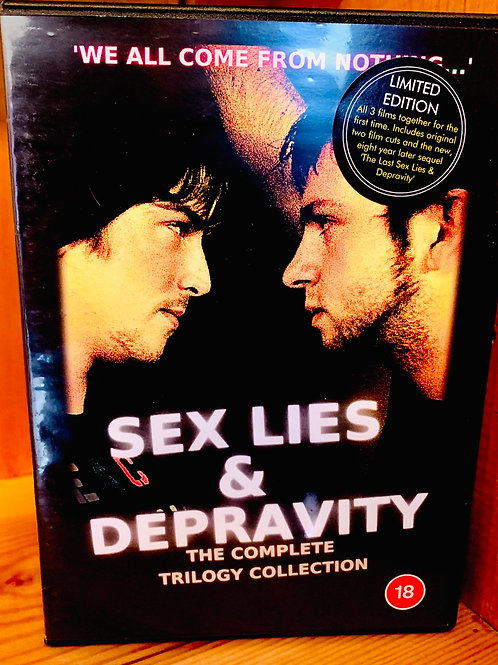 Sex Lies and Depravity DVD: The Complete Collection- 3 Disc DVD.