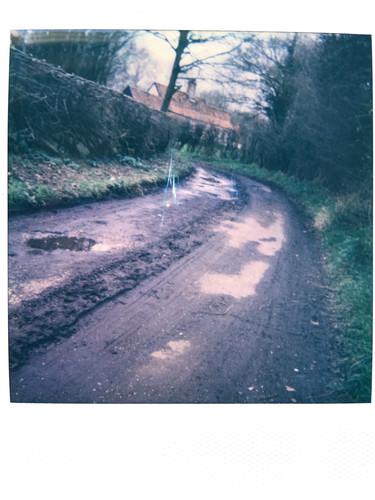 Photo 5- 'lane through dag' - Mar 21'