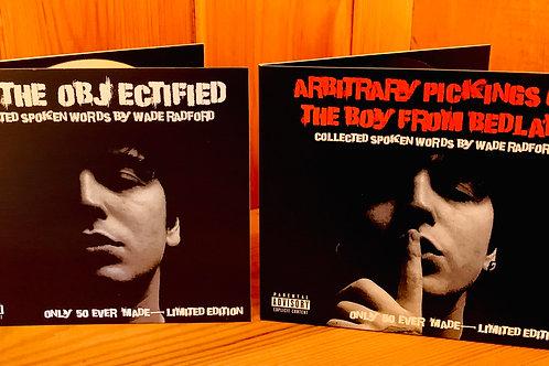 Rare - x2 Poetry Spoken Word CDs