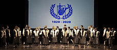 Esibizione del coro Hrast di Doberdò del