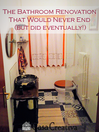The Bathroom Renovation That Would Never End (but obviously did!)