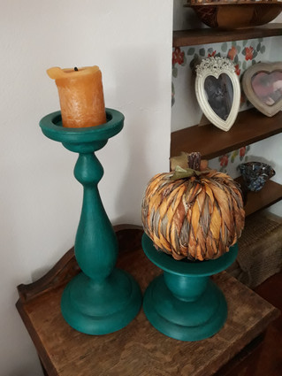 In the Kitchen with the Candlestick: quick makeover