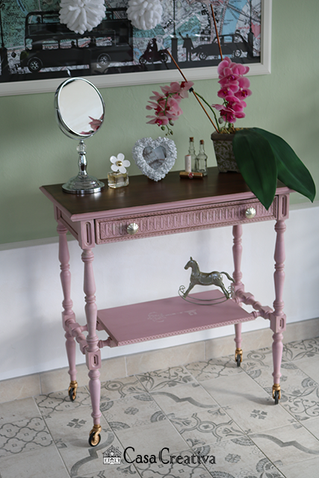 Pretty in Pink: Vintage Style Dresser