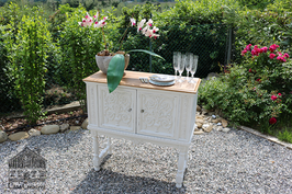 Detailed White Sideboard