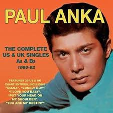 Paul Anka Headed For The Canadian Hall of Fame