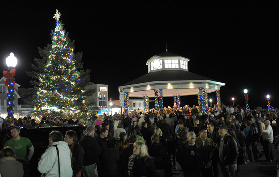 Tree Lighting and Sing Along in Rehoboth Beach on Nov. 23rd.