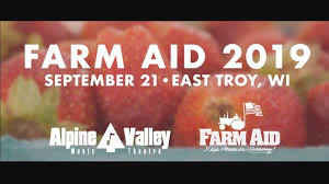 Amid Farm Crisis, Farm Aid Is Returning to Wisconsin