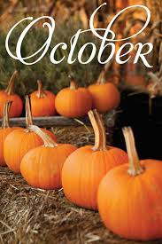 Welcoming the Month of October