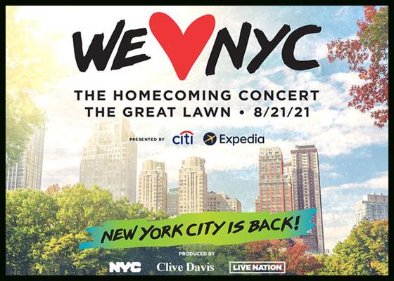 WE LOVE NYC CONCERT