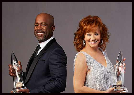 Reba McEntire and Darius Rucker Tribute to Mac Davis