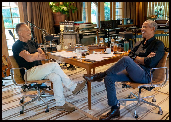 New Book Co-authorized by Barack Obama and Bruce Springsteen to Be Released in October.