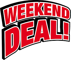 Your Edgewater Gold Radio Weekend Deal!