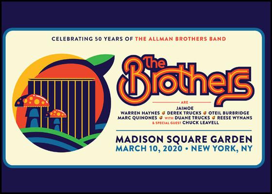 Allman Bros. Celebrating 50 Years