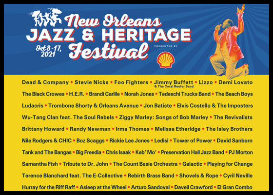 New Orleans Jazz Festival Cancelled