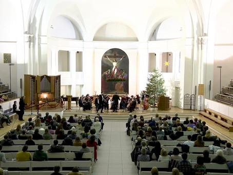 Оркестр «Северная Венеция» поздравляет со Старым Новым годом!
