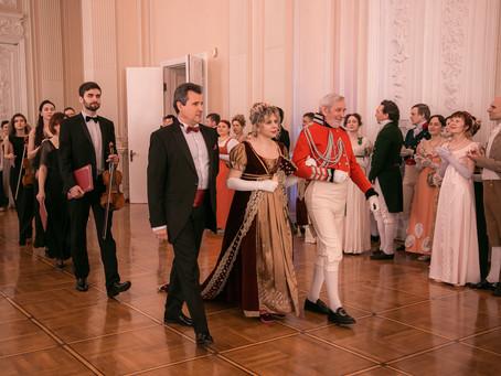 Оркестр «Северная Венеция» принял участие в проведении торжественного IX Николаевского бала