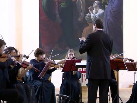 """Оркестр """"Северная Венеция"""" поздравляет Вас с Рождеством!"""