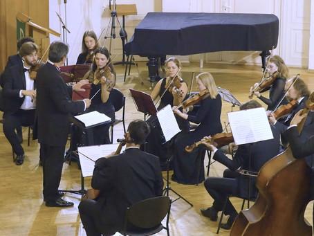 В.А.Моцарт в исполнении оркестра «Северная Венеция»