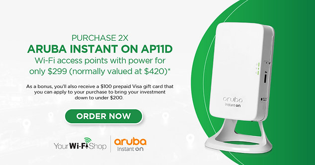 Aruba Instant On - EXCLUSIVE OFFER!