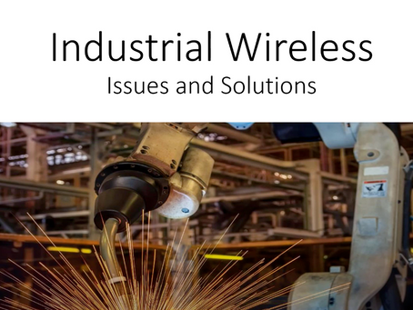 Industrial Wireless Issues and Solutions with CWNP