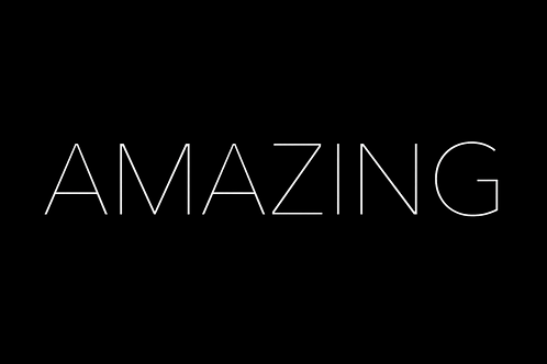 Amazing - Music Video