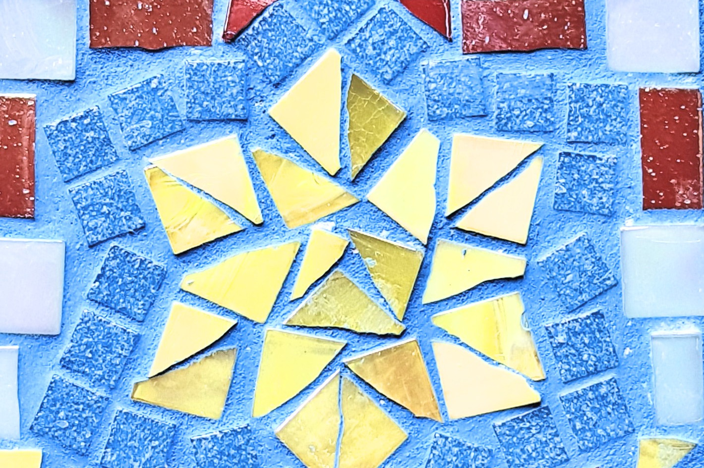 Glasmosaik Workshop, Mosaik in Freiburg,